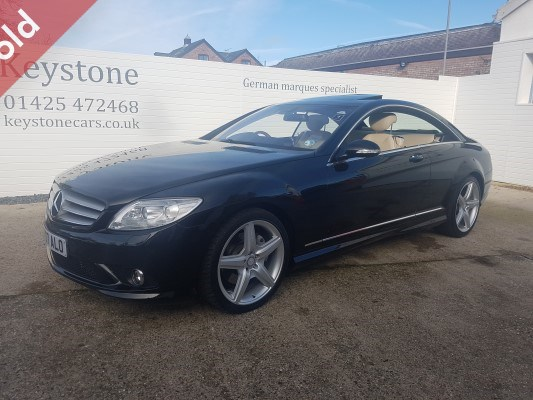 2007 mercedes cl 500 coupe keystone performance cars. Black Bedroom Furniture Sets. Home Design Ideas